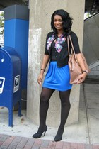 DKNY stockings - vintage from Ebay shoes - Forever 21 skirt - Gap top - Forever