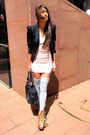 Beige-primark-dress-brown-asos-boots-black-topshop-blazer-gray-american-am
