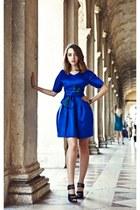 silk ALBINO dress - gemstones Rada accessories