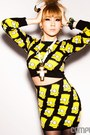 Yellow-jeremy-scott-sweater-black-jeremy-scott-skirt