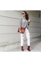 JustFab jeans - Zara heels
