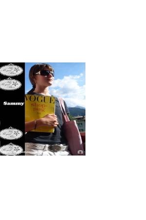 Prada sunglasses - Diesel t-shirt - Prada belt - carrera pants