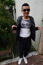 Boycott-jacket-ysl-sunglasses-uniqlo-belt