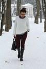 Hobbs-boots-sheinsidecom-sweater-zara-pants