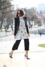 Choiescom-dress-minimum-blazer-jessica-buurman-heels