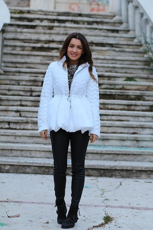Sheinsidecom jacket - Zara pants