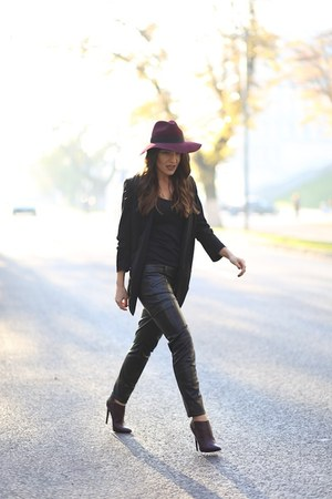 Little Mistress boots - c&a hat - H&M pants