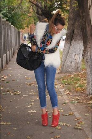 Zara jeans - H&M heels