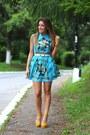 Romwecom-dress-zara-heels