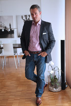 Testini shoes - Levis jeans - Hugo Boss blazer - Tommy Hilfiger blouse