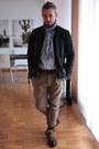 Bugatti-boots-zara-jacket-h-m-accessories-navyboot-blouse