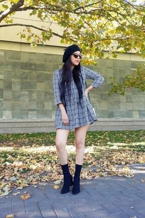 Zara boots - Zara hat - Zara romper