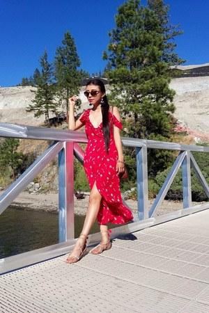 Patrons of Peace dress - Zara bag - Call it Spring sandals