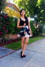 Forever-21-shoes-forever-21-bag-sheinside-skirt-sheinside-top