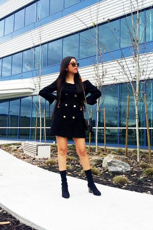 Topshop dress - Zara boots