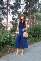 Billabong hat - Topshop bag - Marshalls jumper - Mango sandals