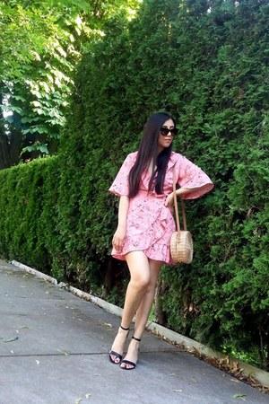 Topshop bag - Topshop dress - Call it Spring sandals