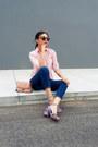 Gap-jeans-mango-bag-stradivarius-sandals-old-navy-blouse