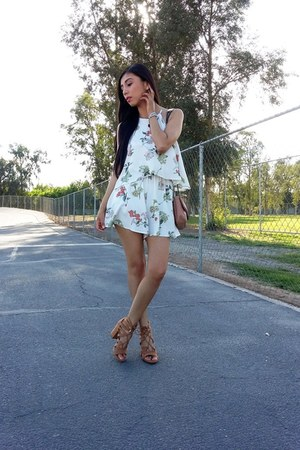 Mango bag - LOB dress - Bershka sandals