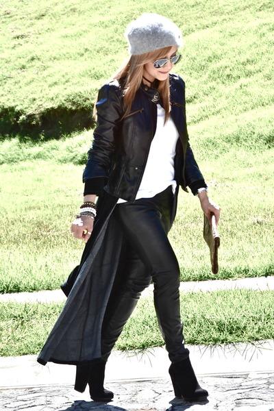Forever21 jacket - Zara boots - Bershka bag