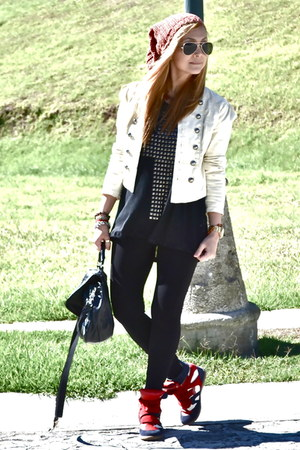 Forever21 jacket - Bershka shirt - isabel marnt sneakers