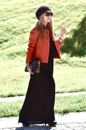 Zara coat - Zara dress - Stradivarius bag