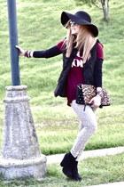 Zara boots - pull&bear jeans - Bershka vest
