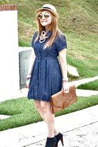 Forever 21 shoes - Forever 21 dress - Bersh bag