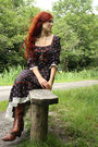 Gunne-sax-dress-thrifted-coat-caprice-boots-pocketwatch-from-ebay-necklace