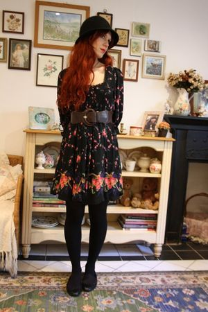 Pennies shoes - Miss Selfridges dress - Pennies coat