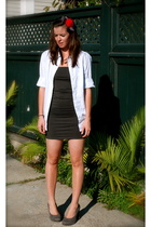 JCrew shirt - American Apparel dress - JCrew accessories - Fairy Tales are True