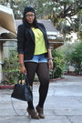 Camel-wild-diva-boots-black-worthington-blazer-black-bueno-bag