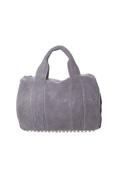 gray Alexander Wang purse