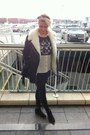 River-island-coat-topshop-leggings-topshop-shirt-thrifted-jumper
