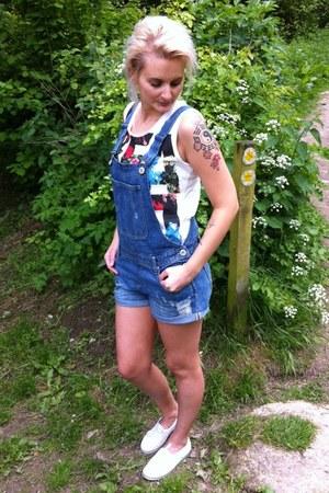 River Island vest - new look romper