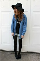 Double Denim and Black