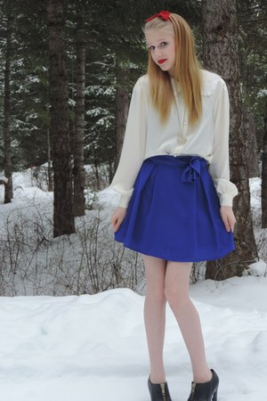 blue Forever 21 skirt - blue Forever 21 skirt