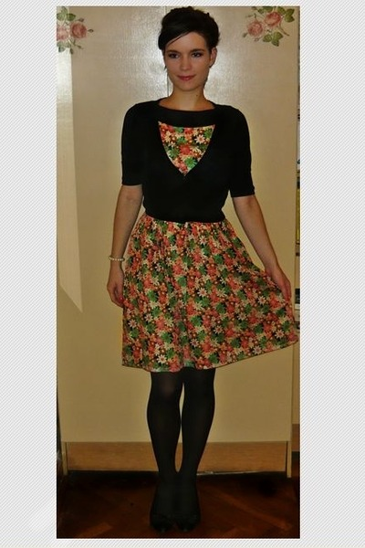 tawny Orsay dress - black F&F cardigan
