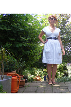 H&M dress - belt - shoes - sunglasses