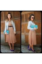 material girl jacket - Old Navy sunglasses - Manolo Blahnik heels