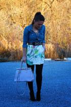 Zara coat - Aritzia shirt - H&M skirt