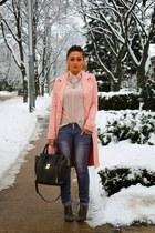 Blush Pink & Gray