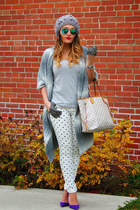 Louis Vuitton bag - Nasty Gal jeans - Manolo Blahnik heels