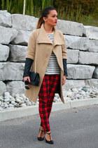 Zara coat - Forever 21 pants - Gucci heels