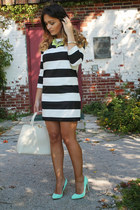 Target necklace - Forever 21 dress - joe fresh style bracelet - Forever 21 heels
