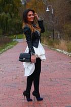 le chateau jacket - sam edelman heels