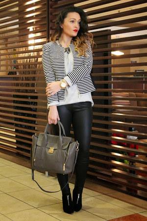 Ivanka Trump jacket - H&M sweater - danier bag
