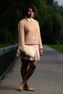 Ralph-lauren-sweater-new-look-skirt-leopard-print-forever-21-loafers