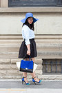 Blue-colorblock-bag-chicwish-bag