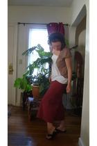 hinge sweater - Old Navy top - Ganesh Himal pants - Teva shoes
